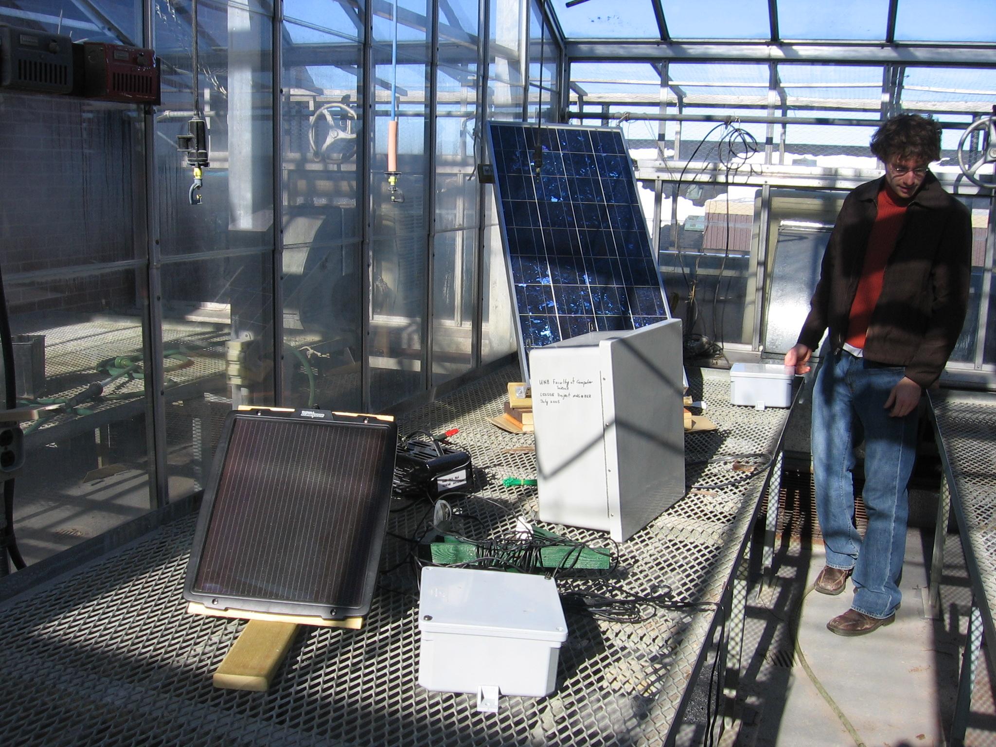 Solar Panel Radiation Sensor Agua Caliente Sanitaria How